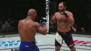Fight Night Halifax: Johny Hendricks Backstage Interview