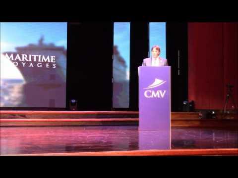 Naming Ceremony of Cruise & Maritime Voyages mv Columbus