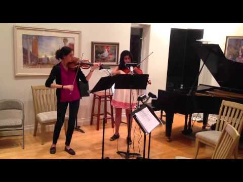 Fuchs Duet for Violin and Viola, Op. 60