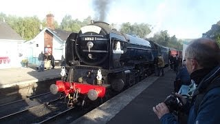 North Yorkshire Moors Railway Holiday D2 LNER Weekend Sunday 6th October 2013