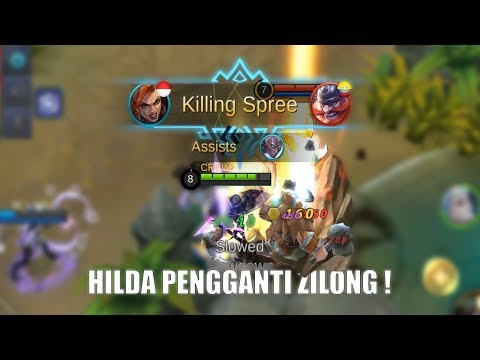 HILDA BUILD ZILONG ? - Mobile Legends Indonesia