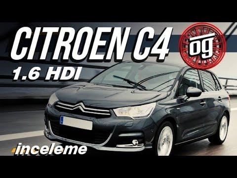 Citroen C4 1.6 E-HDİ İnceleme Test Otomobil Günlüklerim