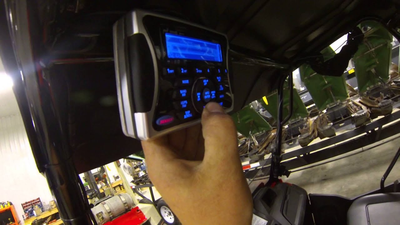 2014 Honda Pioneer Stereo Youtube