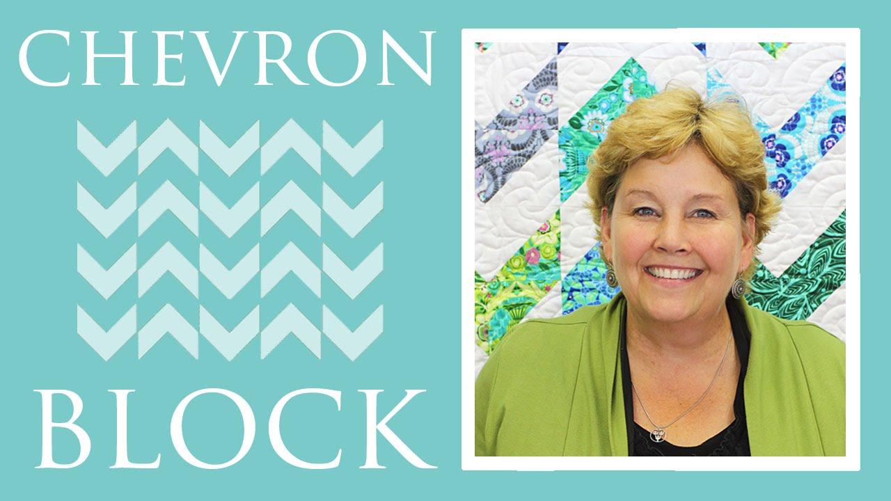 Make A Chevron Block Quilt With Jenny Doan Of Missouri