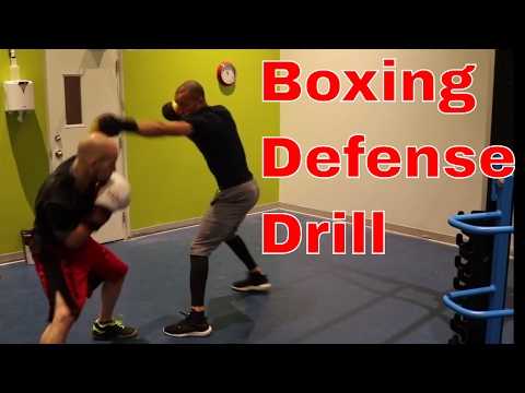 Boxing Defense Drill   Vision and Balance   How to stop flinching