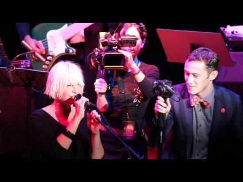 Sia & Joseph Gordon-Levitt (HitRECord Fall Formal @ The Orpheum Theater 2011)