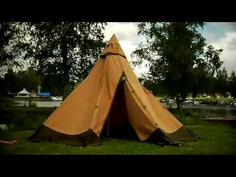 & Putting Up Your Tentipi Nordic Tipi - YouTube