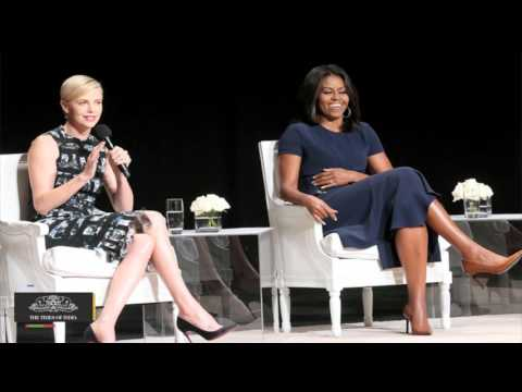 Michelle Obama, Charlize Theron Feel `nothing Sexier Than Smart Woman`