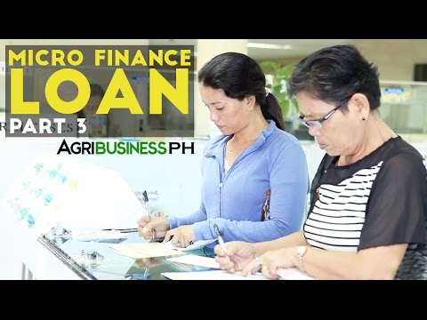 Loans for Farmers Part 3 : Cantilan Bank Micro-Finance Loan | Agribusiness Philippines