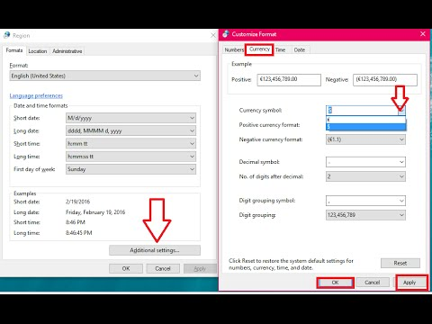 How To Change Default Currency In Windows 10 (Easy Steps)