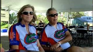 County Coast to County Coast Riders -- Jody and Andrew Levy