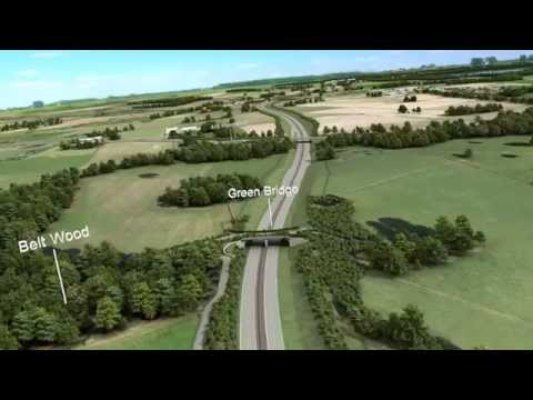 A556 Knutsford to Bowdon Mainline Visualisation