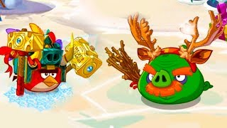 Мультик игра Angry Birds Epic #110 Праздники приближаются новогодний ивент #КРУТИЛКИНЫ