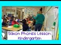 Kindergarten Phonics Lesson Routine | Saxon Phonics K + Brain Break + Centers