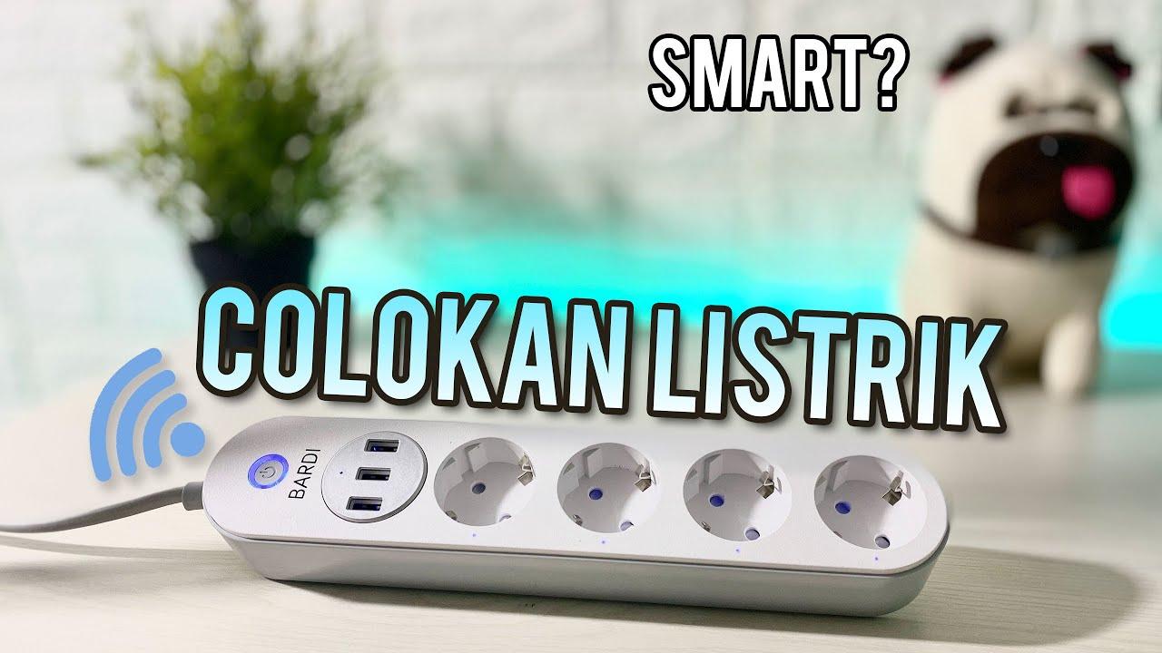 COLOKAN LISTRIK INI SEPINTAR APA?! BARDI Extention Power Strip   Unboxing & Review Indonesia