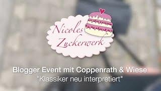 VLOG: Blogger Event von Coppenrath & Wiese I Blick hinter die Kulissen mit Kuchenfee Lisa 😊