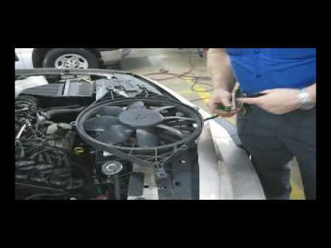 Automotive Electric Fan Wiring Diagram Alternator Test Youtube