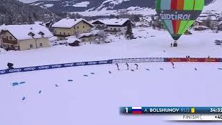 Тур Де Ски Тоблах 5 этап Великолепный финиш наших ребят Сборная России лыжныегонки 6 января 2021