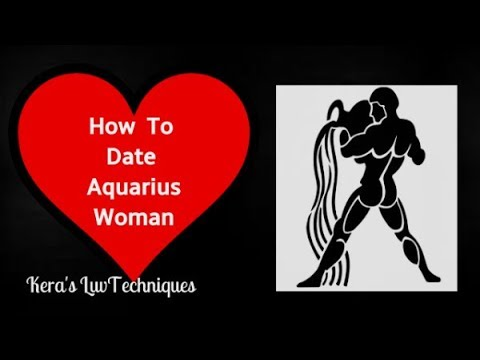Aquarius woman dating aquarius woman
