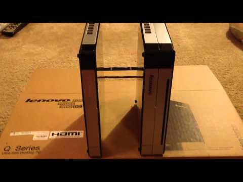 Lenovo Q180 unboxing and performance review!! Intel Atom D2700 with ATI 6450A HDMI
