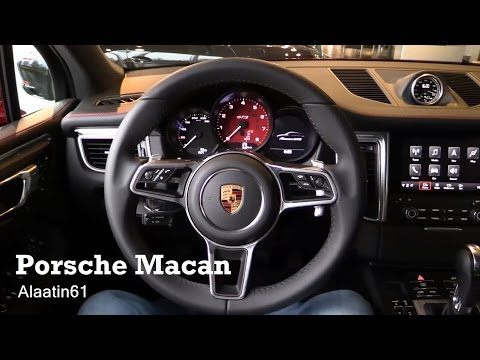 2017 Porsche Macan - interior Review