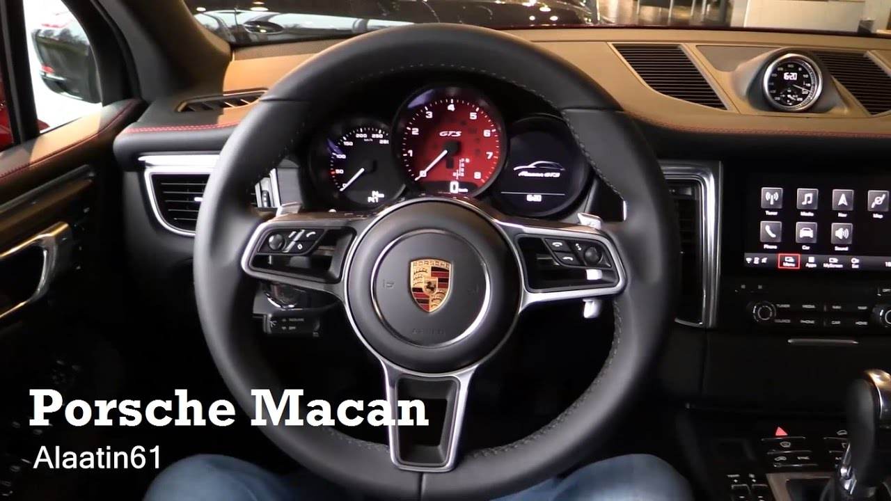 2017 porsche macan interior review youtube. Black Bedroom Furniture Sets. Home Design Ideas