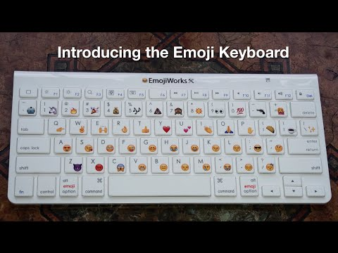 How to type Emojis on Mac, PC, Computers, iPhone with the Emoji Keyboard