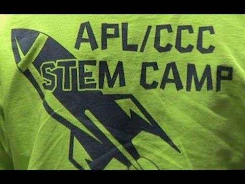 2012 STEM Camp -  JHU/APL & CCC