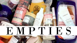 SUMMER EMPTIES | MAKEUP, SKINCARE, HAIR | YOUNG WILD AND POLISHED