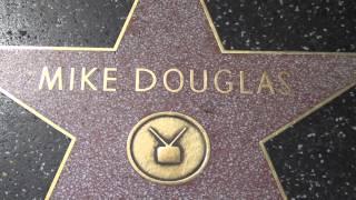 Mike Douglas Hollywood Walk Of Fame Star