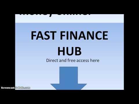 Finance hubs? learn about FAST FINANCE HUB HERE.