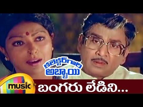 Bangaruledini Full Video Song | Collector Gari Abbai Telugu Movie | ANR | Nagarjuna | Sharada