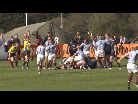 RAF Rugby Team Gearing Up To Take On The Army