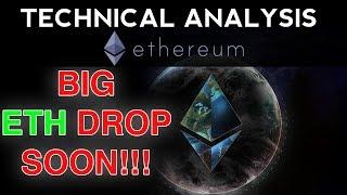 HUGE Ethereum DROP Soon, Be Prepared! (Technical Analysis)