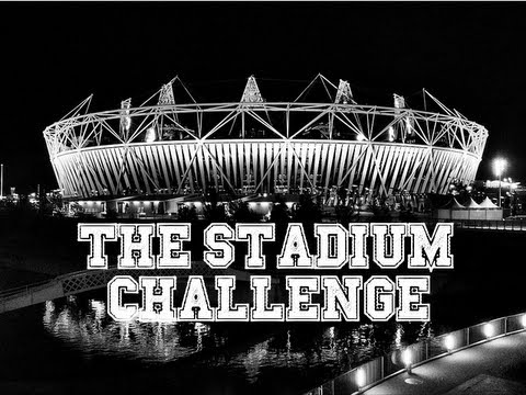VLOG :: 50 Sub Special :: The Stadium Challenge :: Travel to as Many Stadiums in 6 Hours!