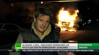 Sweden burning: Stockholm riots & violence enter 4th day
