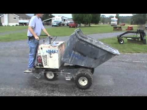 Miller Scoot Crete MB16 Concrete Buggy Power Buggy For Sale Mark Supply Co