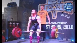 Kristy Hawkins - 2nd Place Raw - All Time World Record Total 625 kg/1377.8 lbs - Boss Of Bosses 5