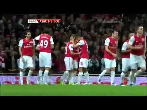 Arsenal Ju Young Park Goal ! (아스널 박주영 골).mp4.mp4