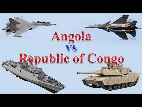 Angola vs Republic of Congo Military Comparison 2017