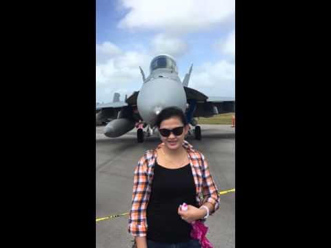 Air show on Guam 2016