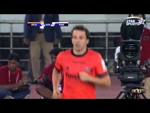 ADPtv   HL Delhi Dynamos FC - FC Pune City   ISL 2014