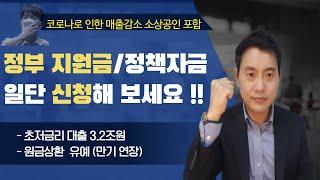 정부지원상품, 원금상환 유예제도(feat.코로나 피해지…