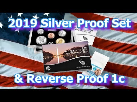 US Mint Releases 2019 Silver Proof Set With W Reverse Proof Penny