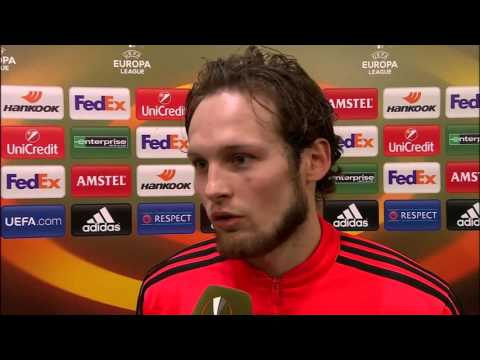Manchester Utd 1-1 Liverpool | Daley Blind Post-Match Interview  | UEL