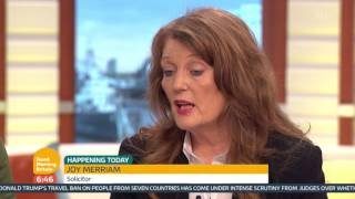 Protecting Rape Victims From Inappropriate Questioning | Good Morning Britain