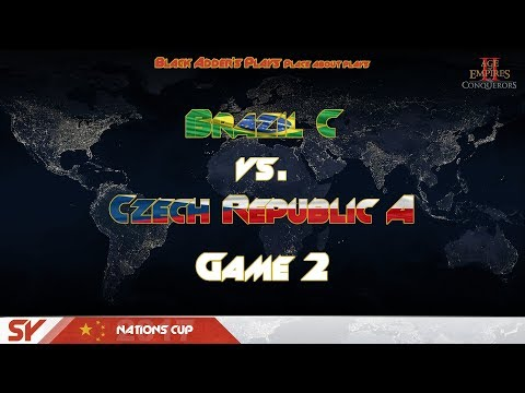 SY Nations Cup 2017, GL, R2 - Brazil C vs. Czech Republic A, G2 - Age of Empires II: The Conquerors