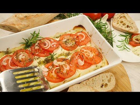 Gebackener Feta mit Tomaten aus dem Ofen