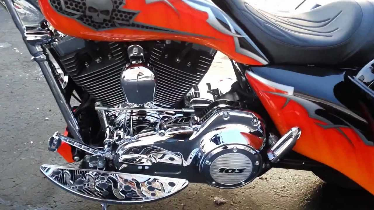 2012 harley davidson street glide custom 26 inch front