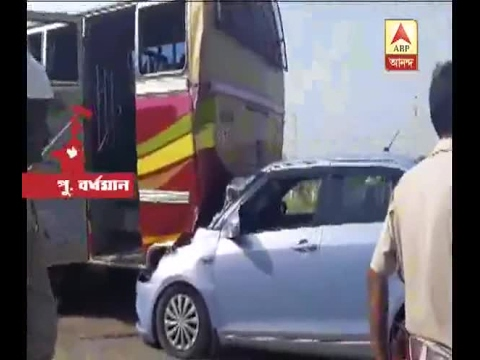 Burdwan: Accident at Budbud, 3 injured